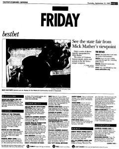 Syracuse Post Standard, September 22, 2005, Page 61