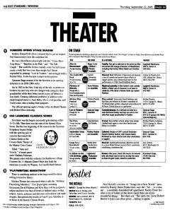 Syracuse Post Standard, September 22, 2005, Page 85