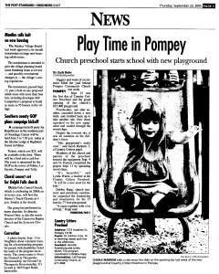 Syracuse Post Standard, September 22, 2005, Page 91