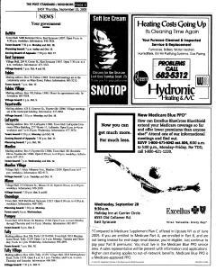 Syracuse Post Standard, September 22, 2005, Page 93