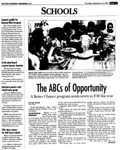 Syracuse Post Standard, September 22, 2005, Page 105