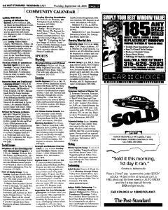 Syracuse Post Standard, September 22, 2005, Page 117