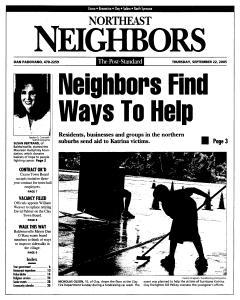 Syracuse Post Standard, September 22, 2005, Page 121