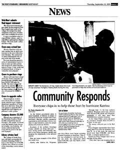 Syracuse Post Standard, September 22, 2005, Page 123