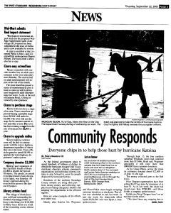 Syracuse Post Standard, September 22, 2005, Page 159