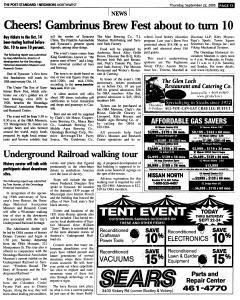 Syracuse Post Standard, September 22, 2005, Page 167
