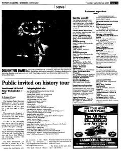 Syracuse Post Standard, September 22, 2005, Page 169