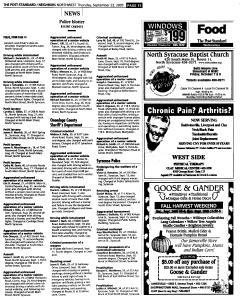 Syracuse Post Standard, September 22, 2005, Page 171