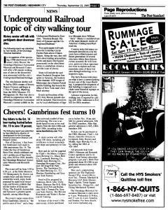 Syracuse Post Standard, September 22, 2005, Page 199