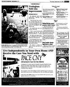 Syracuse Post Standard, September 22, 2005, Page 205