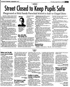 Syracuse Post Standard, September 22, 2005, Page 228