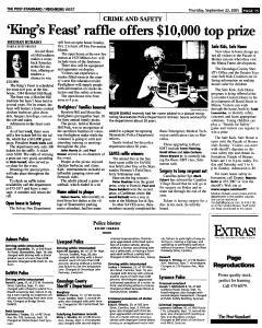 Syracuse Post Standard, September 22, 2005, Page 238