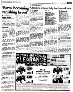 Syracuse Post Standard, September 22, 2005, Page 243