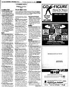 Syracuse Post Standard, September 22, 2005, Page 249