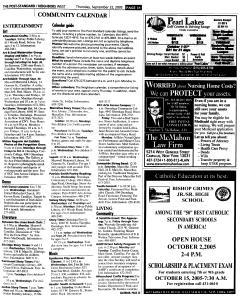 Syracuse Post Standard, September 22, 2005, Page 253