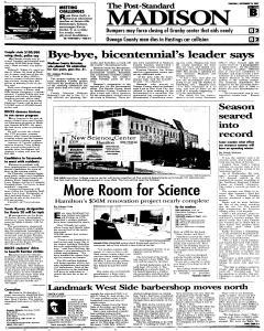 Syracuse Post Standard, September 22, 2005, Page 297