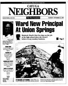 Syracuse Post Standard, September 22, 2005, Page 325