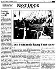 Syracuse Post Standard, September 22, 2005, Page 329