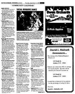 Syracuse Post Standard, September 22, 2005, Page 333