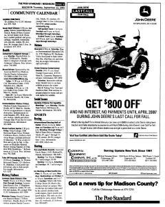 Syracuse Post Standard, September 22, 2005, Page 353