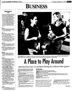 Syracuse Post Standard, September 22, 2005, Page 381