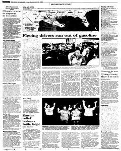 Syracuse Post Standard, September 23, 2005, Page 6