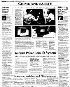 Syracuse Post Standard, September 23, 2005, Page 18