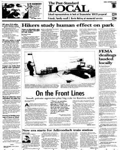 Syracuse Post Standard, September 25, 2005, Page 24