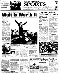 Syracuse Post Standard, September 26, 2005, Page 19