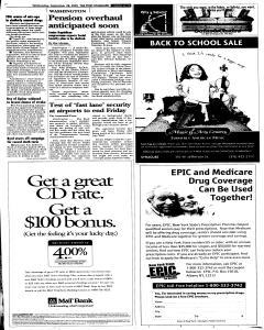 Syracuse Post Standard, September 28, 2005, Page 11
