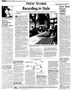 Syracuse Post Standard, September 30, 2005, Page 64
