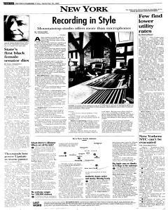 Syracuse Post Standard, September 30, 2005, Page 84