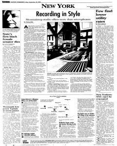 Syracuse Post Standard, September 30, 2005, Page 104