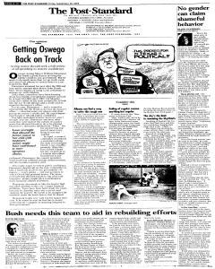 Syracuse Post Standard, September 30, 2005, Page 106