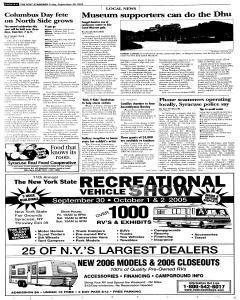 Syracuse Post Standard, September 30, 2005, Page 114