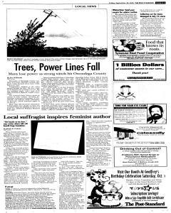 Syracuse Post Standard, September 30, 2005, Page 111