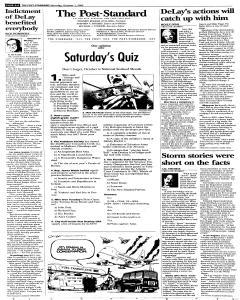 Syracuse Post Standard, October 01, 2005, p. 6