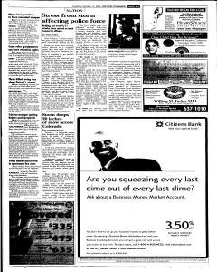 Syracuse Post Standard, October 11, 2005, Page 57