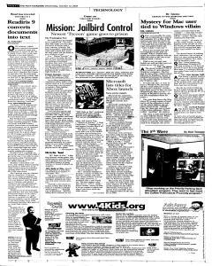 Syracuse Post Standard, October 12, 2005, Page 44