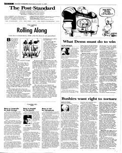 Syracuse Post Standard, October 12, 2005, Page 78