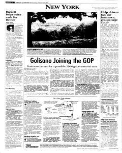 Syracuse Post Standard, October 12, 2005, Page 96
