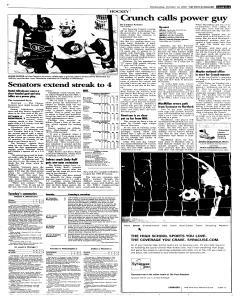 Syracuse Post Standard, October 12, 2005, Page 27