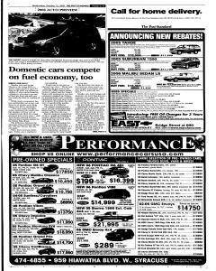 Syracuse Post Standard, October 12, 2005, Page 57