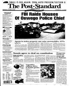 Syracuse Post Standard, October 12, 2005, Page 67
