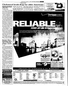 Syracuse Post Standard, October 12, 2005, Page 69