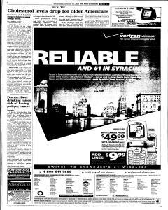 Syracuse Post Standard, October 12, 2005, Page 89