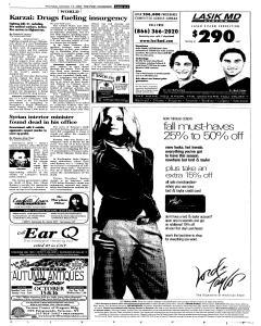 Syracuse Post Standard, October 13, 2005, p. 5