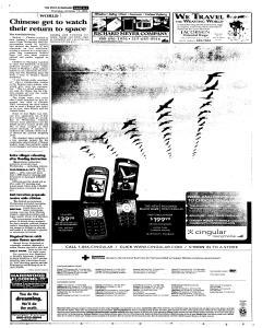 Syracuse Post Standard, October 13, 2005, p. 7