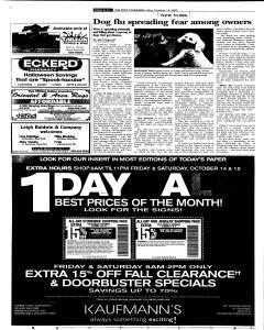 Syracuse Post Standard, October 14, 2005, Page 12