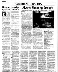 Syracuse Post Standard, October 14, 2005, Page 18